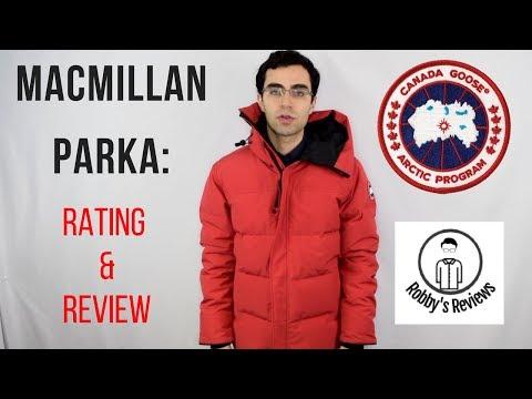 Canada Goose: Macmillan Parka Rating And Review