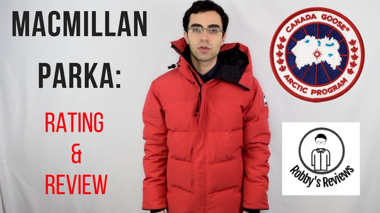 fe0318116e31 Canada Goose  Macmillan Parka Rating and Review - YouTube