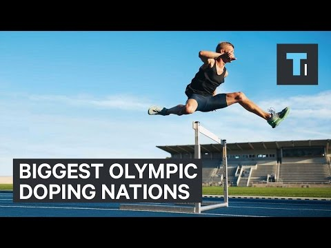 Biggest Olympic doping nations
