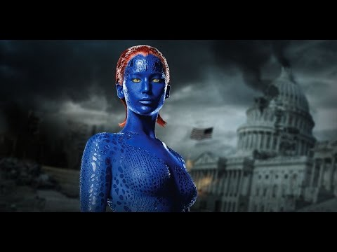 X  Men: Mystique  Rebecca Romijn & Jennifer Lawrence  Backstage  Digital Domain