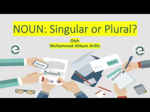 M39: Singular Versus Plural Noun (TOEFL ITP)