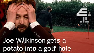 Joe Wilkinson gets a POTATO into a GOLF HOLE | Taskmaster