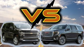 2021 Chevy Tahoe vs 2021 GMC Yukon | What's the difference?