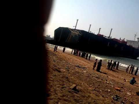 GADDANI SHIP BLAST , DUE TO OIL,GAS NOT CLEARED