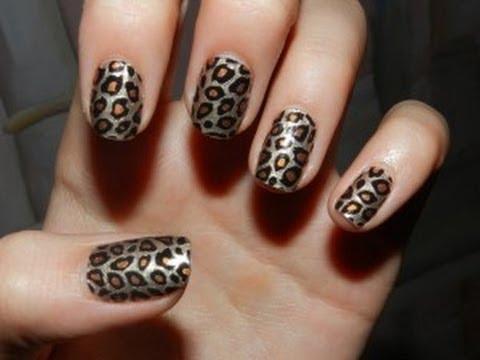 Como pintarse las u as de animal print youtube - Como pintarse las unas ...