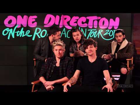 One Direction and Live Nation's On the Road Again Twitter Contest
