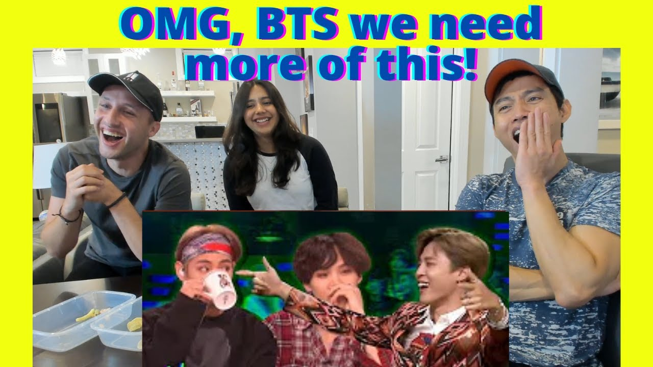 BTS being BTS on talk shows | BTS Funny moments | Reaction