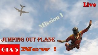 GTA 5 Jumping out of a Cargo Plane Fast and Furious Style Game play Mission 1
