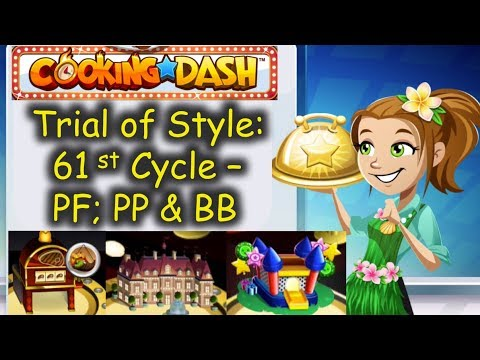 TOS 61st Cycle = So Many Golden Saucers & Auto Chefs? Nani??? (Cooking Dash)