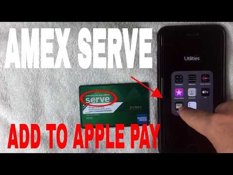 ✅  Can You Add American Express Serve Prepaid To Apple Pay Wallet?  🔴