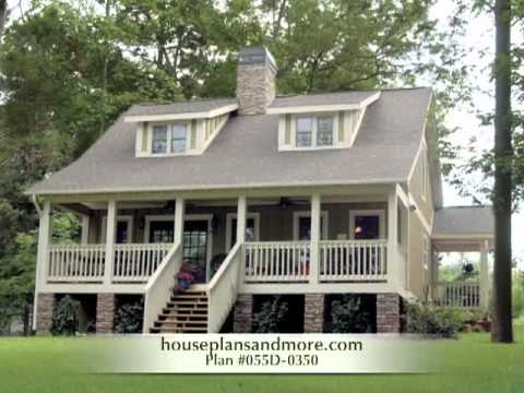 Perfect Acadian Style House Plans Farmhouse Home Has Deep ...