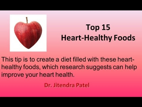 Health Videos: 15 best foods for heart