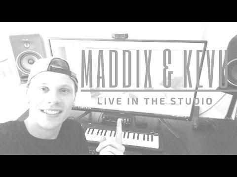 MADDIX & KEVU  in the studio | Making of