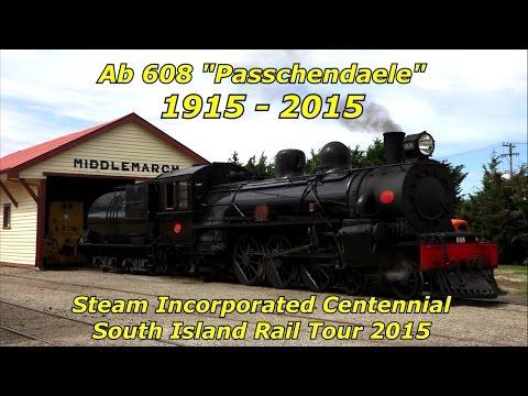 Steam Incorporated - Centennial South Island Rail Tour 2015 (HD)