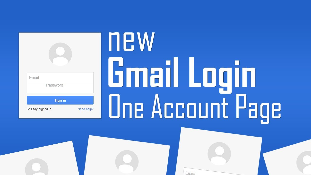 Gmail login account