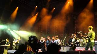 Mumford and Sons - Harvest by Neil Young (With First Aid Kit and Bear's Den)
