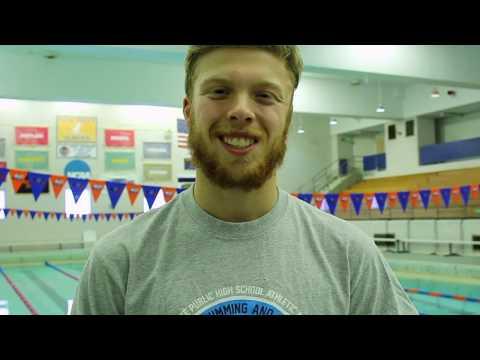 SUNY New Paltz Swimming SUNYAC's Training Routine: Owen Rowlands
