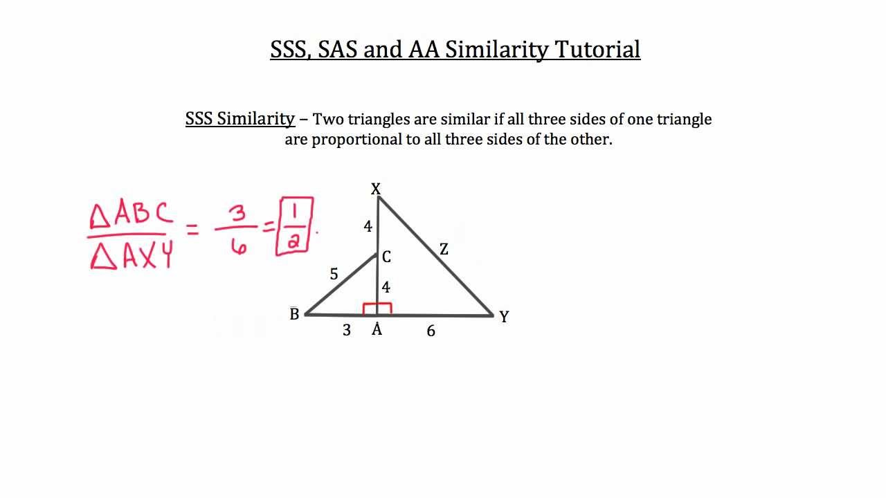 small resolution of Similar Triangles and Polygons (solutions