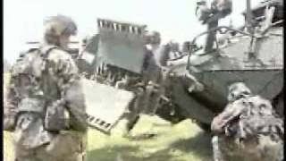 Land APC   Stryker APC Stryker AFV Engineer Variant hires