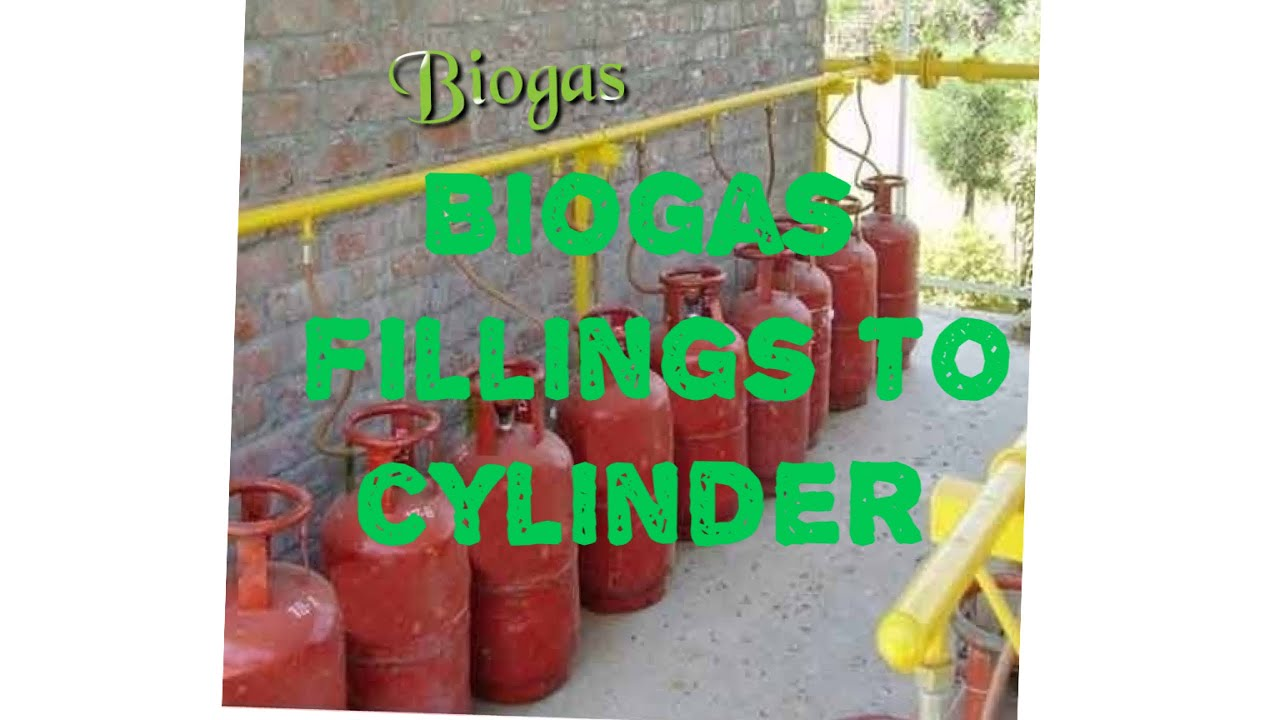 how to store biogas into cylinder for kitchen uses