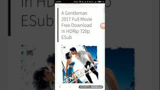 How to download A Gentleman 2017 Full Movie Free Download In HDRip Download link Description