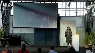 Minoo Rathnasabapathy. Using Space Technology to Contribute to the SDGs | GIZ tech2D 2018