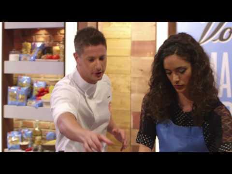 MASTER OF PASTA – Cristina presenta il suo piatto con Voiello