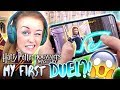 😱OUR FIRST DEADLY DUEL!😱 (Harry Potter Hogwarts Mystery! #4🦉)