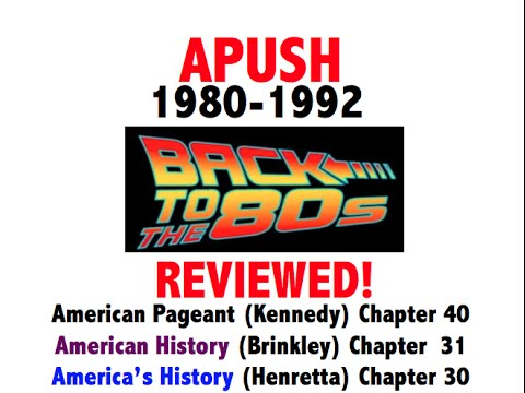 American Pageant Chapter 40 APUSH Review (Period 9)