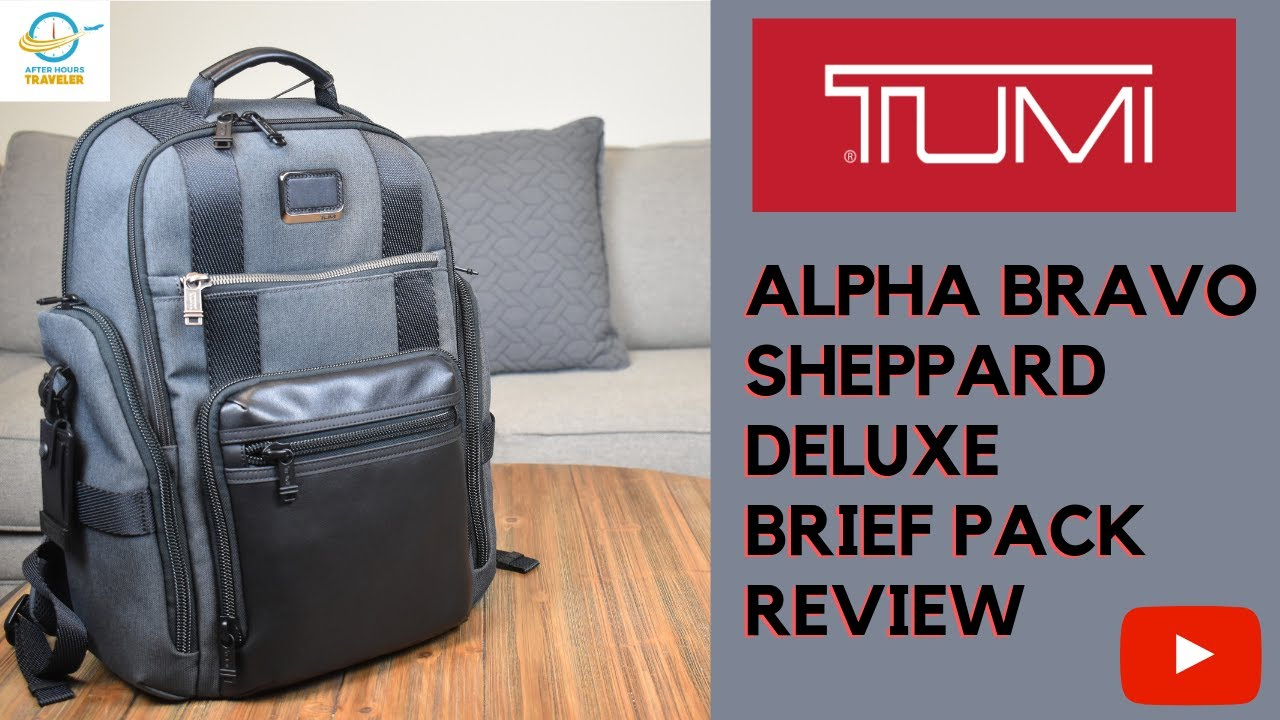 a9afd049ab Tumi Alpha Bravo Sheppard Deluxe Brief Pack Review - YouTube