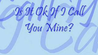 is it OK if i call you mine? by: Paolo Santos