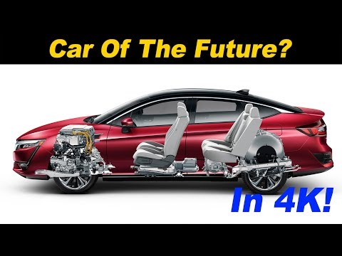 2018 Honda Clarity Fuel Cell Review and Road Test | In 4K