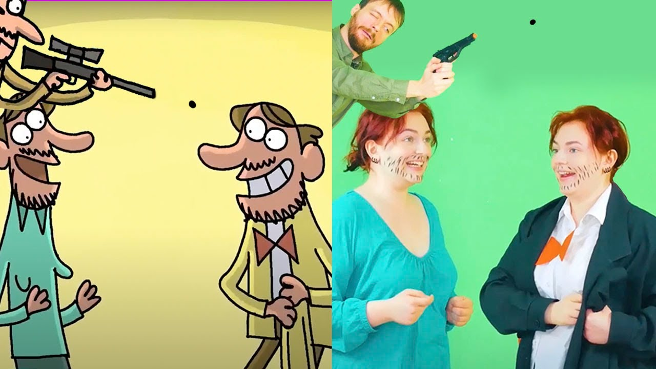 Merry Masquerade - New Collection Of Cartoon Parodies - Best TOP 16 Episodes