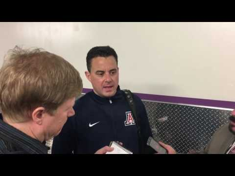 Arizona head coach Sean Miller post Santa Clara press conference