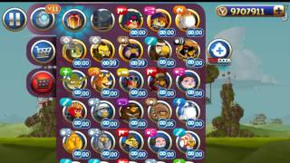 Angry Birds Star Wars 2 Battle of Naboo All levels (Bird Side)