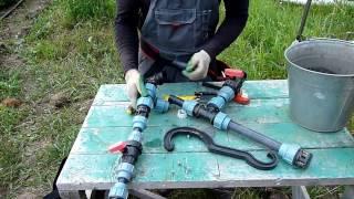 08 Сборка ПНД соединений и труб