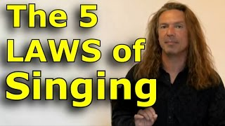 Singing Lessons For Beginners - The 5 Laws Of Singing - Learn Singing with Ken Tamplin - YouTube