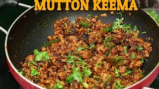 How To Cook Mutton Keema Fry | Andhra Style Mutton Keema Fry | Andhra Foods