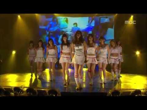 Girls' Generation - Into The New World, 소녀시대 - 다시 만난 세계, Music Core 20070901