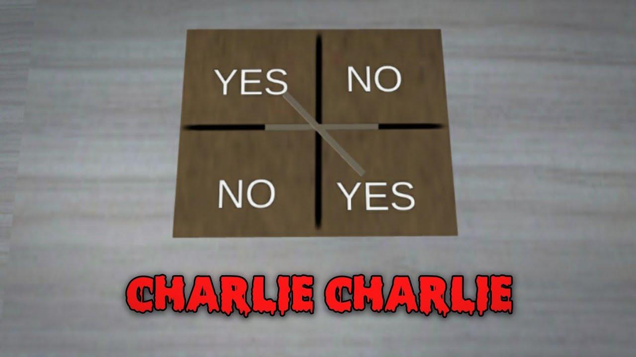 CHARLIE CHARLIE || HORROR MOVIE SAKURA SCHOOL SIMULATOR