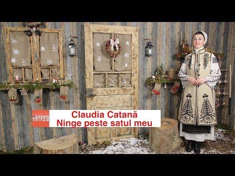 Claudia Catana - Ninge peste satul meu (video oficial) colind 2018