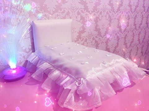 Как сшить покрывало на кроватку кукольную
