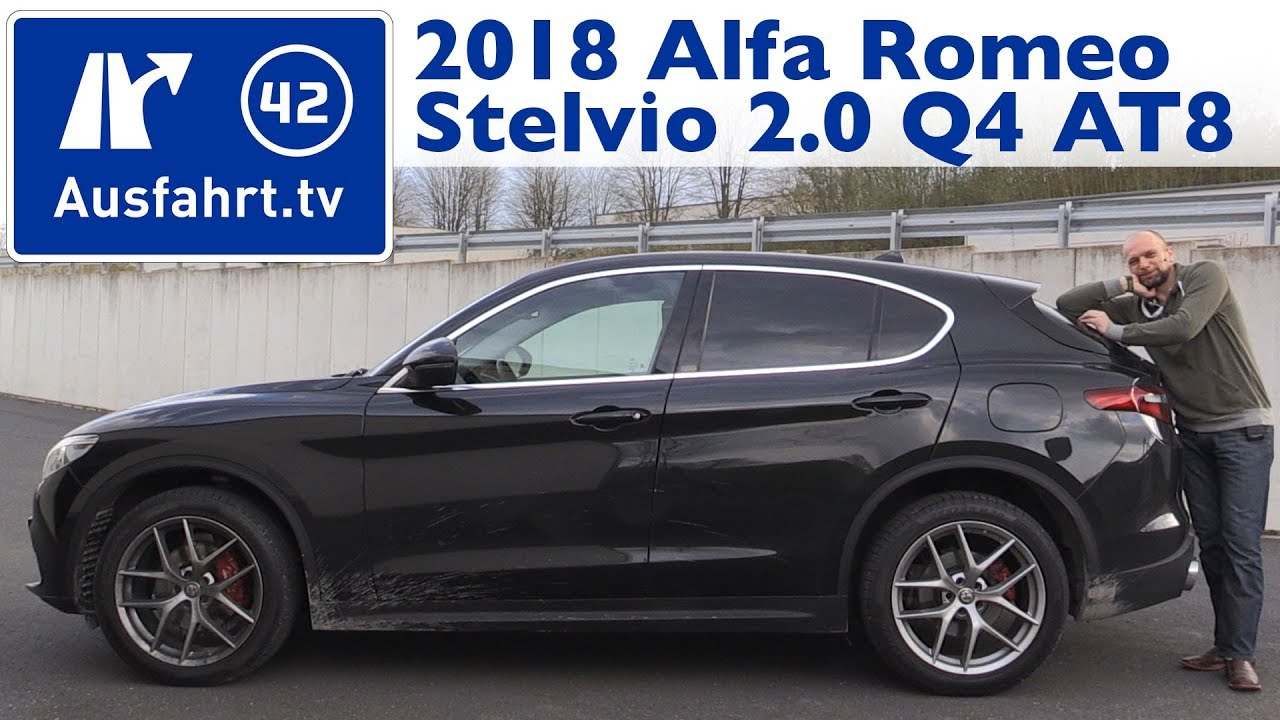 2018 Alfa Romeo Stelvio First Edition 2 0 Turbo At8 Q4