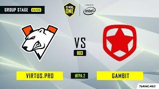 Virtus.pro vs Gambit Esports (игра 2) BO3   ESL One Los Angeles   Online