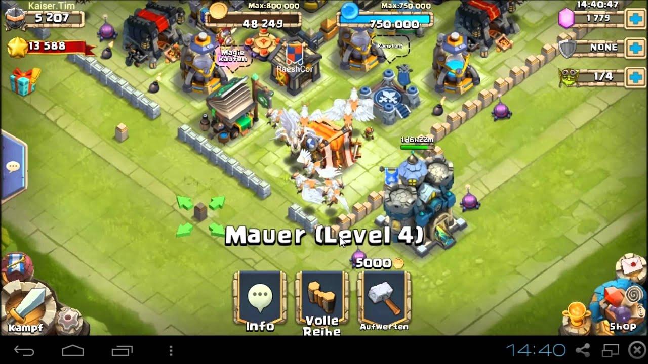 Castle Clash Deutsch