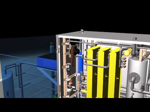 3D Model - Dioxide Pacific - Electrochemical Electricide Chlorine Dioxide Generator CDE150