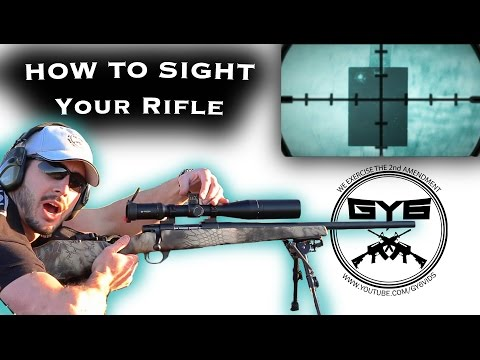 Fastest Way to Sight in a Rifle
