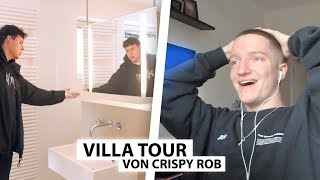 Justin reagiert auf CrispyRob's Luxus Villa.. | Reaktion
