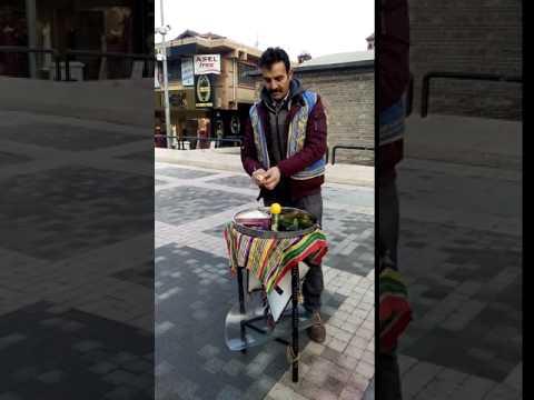 Street Food In Bursa, Turkey