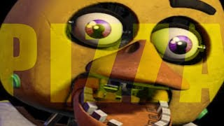 """Every FNAF Not Scary but all """"PIZZA"""" lines are synced"""